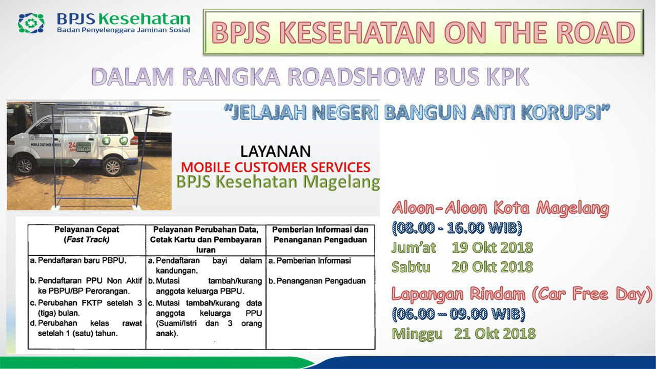 BPJS Kesehatan On The Road